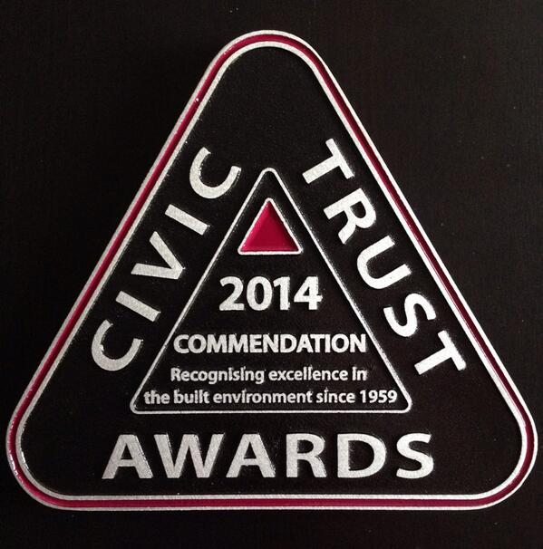 civic trust commendation